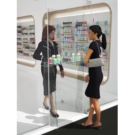 """Προστατευτικό πάνελ για διανομή φαρμάκων με """"κλειστές πόρτες"""""""